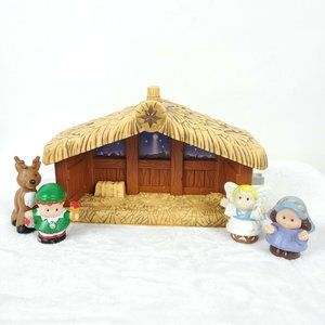 2002 Fisher Price Little People Nativity Manger